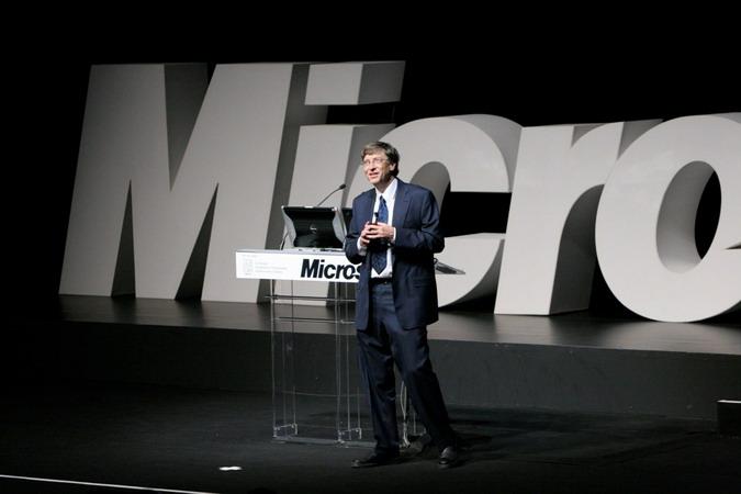 Bill Gates Athens 2008