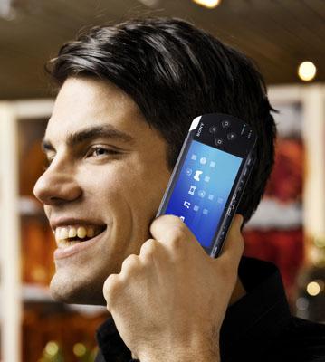 Sony PSP Skype phone