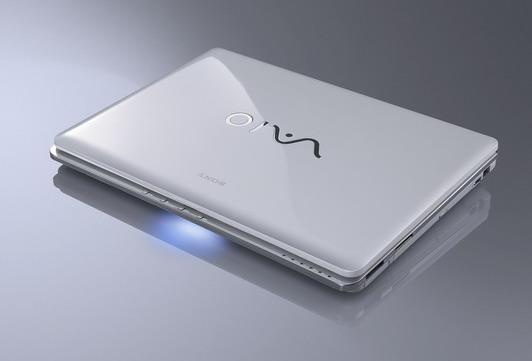 Sony VAIO CR series white