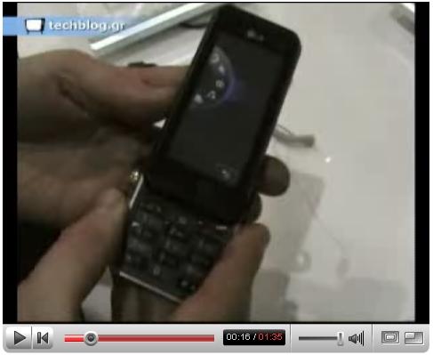 techblogTV LG KF700