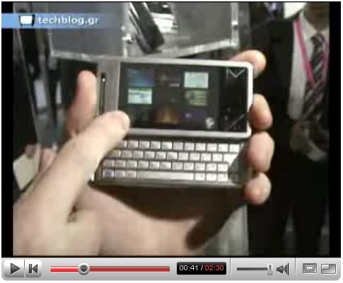 techblogTV Sony Ericsson XPERIA X1