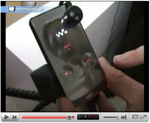 techblogTV Sony Ericsson W980