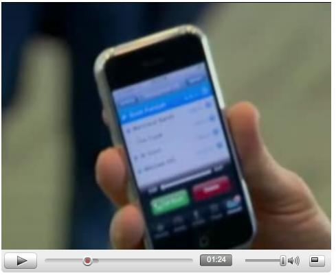 iPhone CBS YouTube