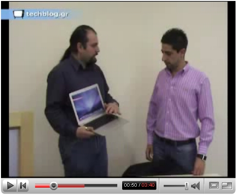 techblogTV MacBook Air
