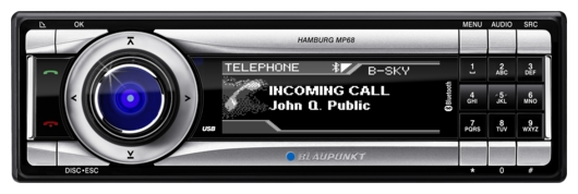 Blaupunkt Hamburg MP68