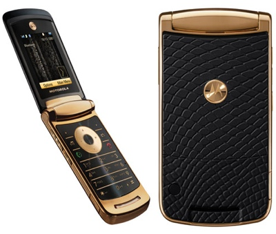 Motorola V8 RAZR 2 luxury
