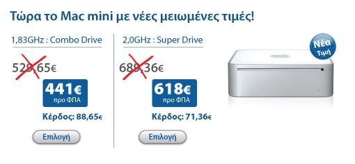 MacMini new prices