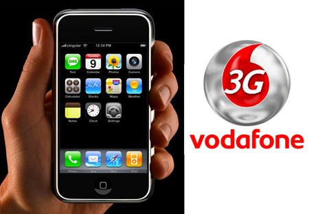 iPhone 3G Vodafone