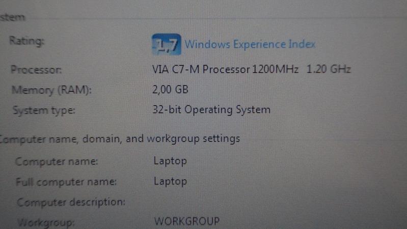 HP 2133 core