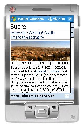 pocket wikipedia