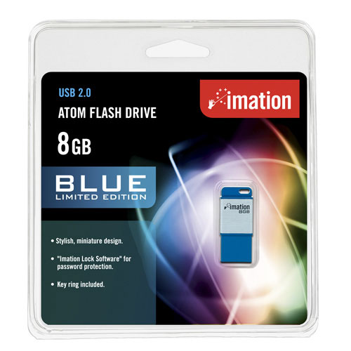 Imation Atom Blue