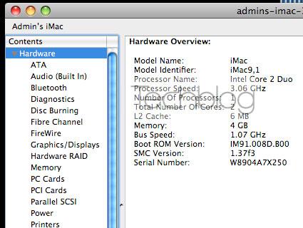 iMac 24 2009