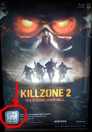Kill Zone 2 QR-Code example