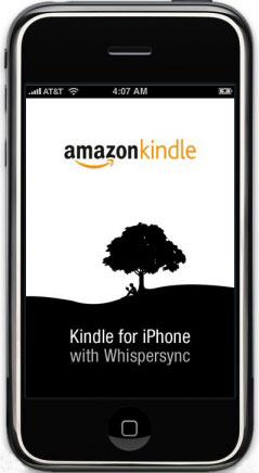 iPhone Amazon Kindle