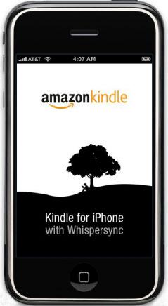 iPhone Amazon Kindle