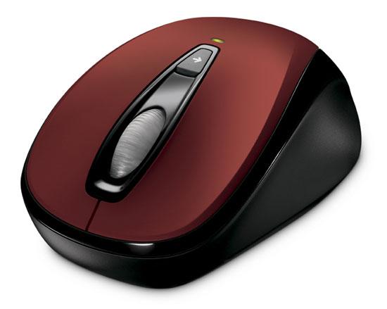 Microsoft Wireless Mobile Mouse 3000 Color