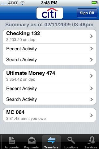 citi mobile for iphone