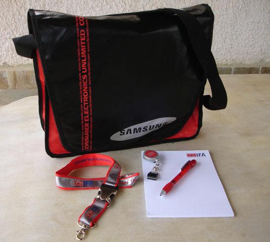 IFA 2009 gift pack