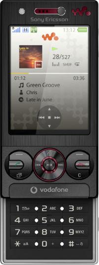 Sony Ericsson W715 Vodafone