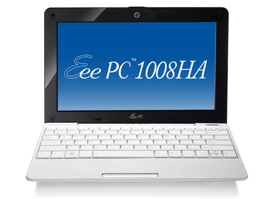ASUS Eee PC Sheashell 1008HA