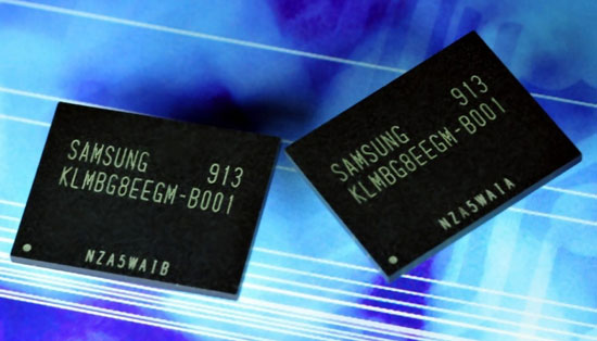 Samsung moviNAND 32GB