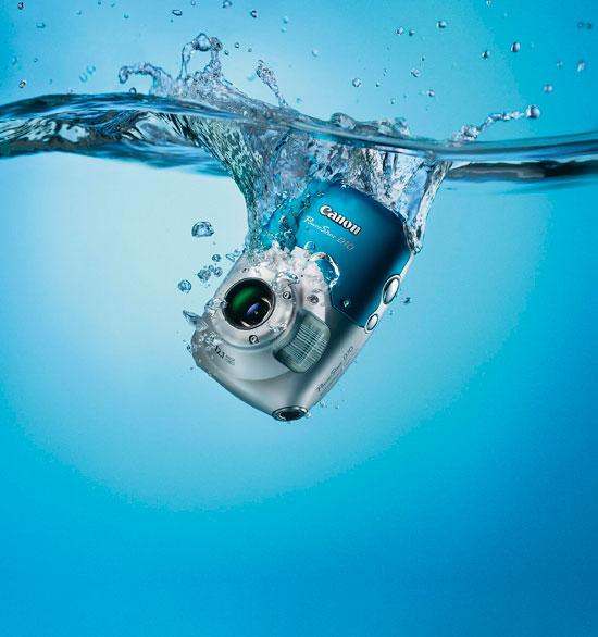 Canon PowerShot D10 Underwater