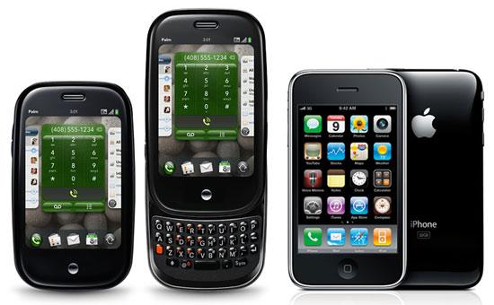 iphone 3g s vs palm pre