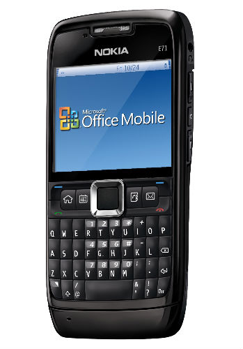 Nokia E71 Microsoft Office