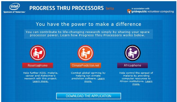 intel progress thru processors