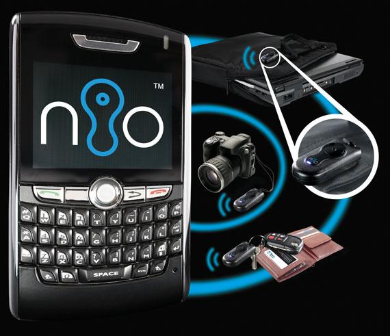 Blue nio Bluetooth tag