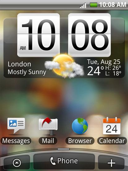 HTC Touch Sense UI