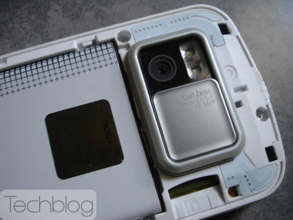 Nokia N97 camera