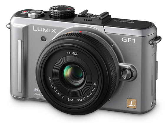 Panasonic Lumix GF1 grey