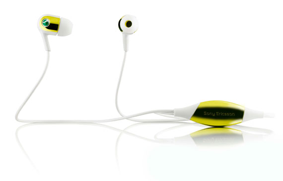 Sony Ericsson MH907 yellow