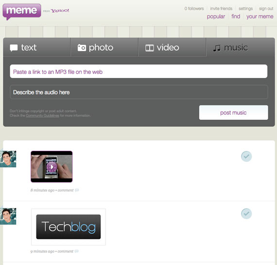 Yahoo Meme techblogGR