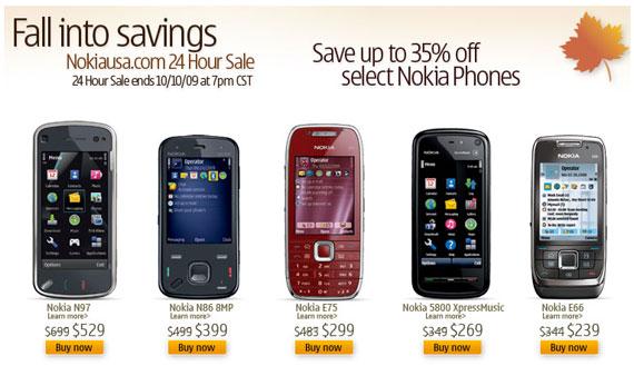 Nokia winter sales