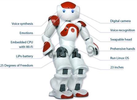 nao humanoid robot