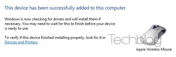 Apple Magic Mouse Windows 7