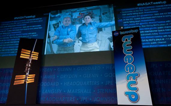 Nasa ISS Tweetup