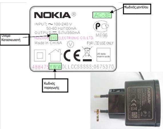 Nokia charger exchange