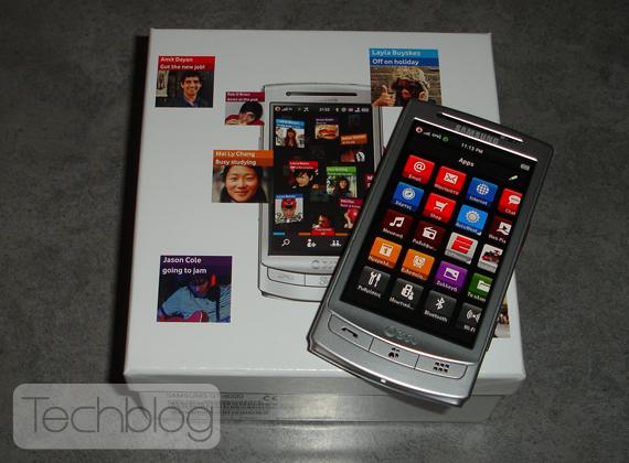 Samsung H1 Vodafone 360 box