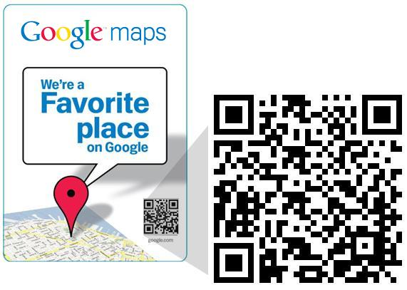 Favorite Places on Google
