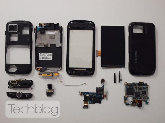 Samsung Omnia ii teardown