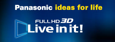 Panasonic Full HD 3D