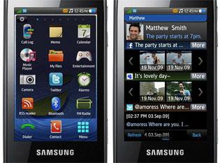 Samsung Bada screenshots