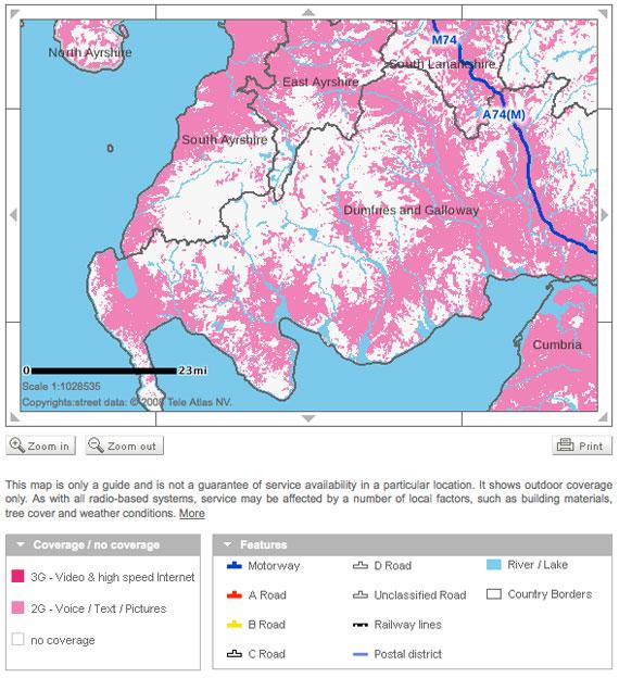 map broadband coverage
