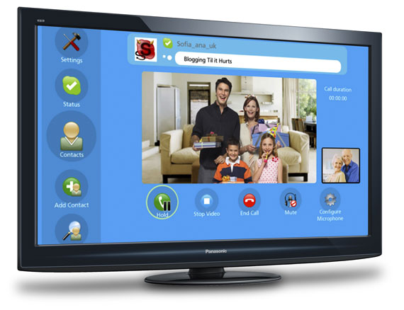 Panasonic VieraCast Skype