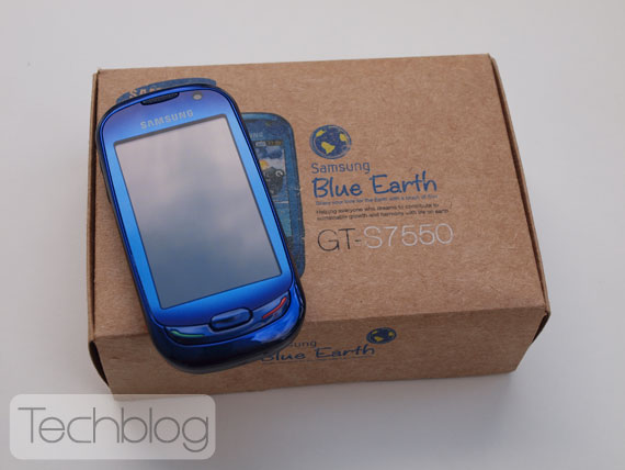 Samsung Blue Earth GT-S7550