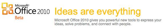 ms office 2010 beta