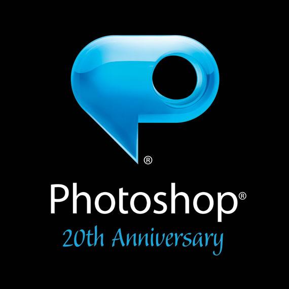 Adobe Photoshop Anniversary Logo